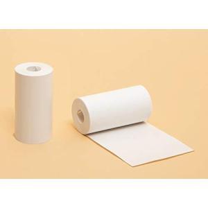Paperang対応 印刷用紙 感熱連続紙 AP01 用紙幅57mm×巻直径30mm×内径8mm 長さ 8m|meki