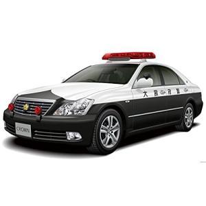 青島文化教材社 1/24 ザ・パトロールカーシリーズ No.3 トヨタ GRS182 クラウン パトロールカー 交通取締用 2005 プラモデル|meki
