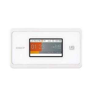 UQ WiMAX モバイルルーター Speed Wi-Fi NEXT WX06 Wi-Fi 2.4GHz/5GHz同時利用 (ホワイト)|meki