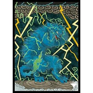 マジック:ザ・ギャザリング プレイヤーズカードスリーブ 『ストリクスヘイヴン:魔法学院』日本画ミスティカルアーカイブ 《渦まく知識》 MTGS-158|meki