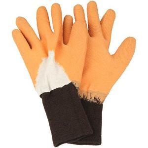 セフティー3 トゲがささりにくい手袋 オレンジ S|meki