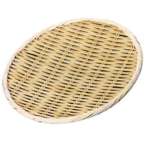 小柳産業 竹製盆ザル (国産) 上仕上げ φ30cm 30004