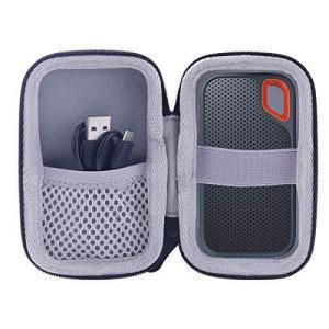 SanDisk Portable SSD 250GB 250GB 500GB 2TB 1TB 対応 専用保護収納ケース-WERJIA.JP (Smal|meki