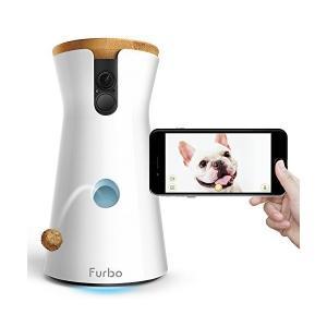 Furbo ドッグカメラ 飛び出すおやつ 双方向会話 iOS Android対応 Alexa対応 A...