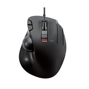 エレコム 有線マウス トラックボール 6ボタン ブラック M-XT3URBK ELECOM(エレコム...