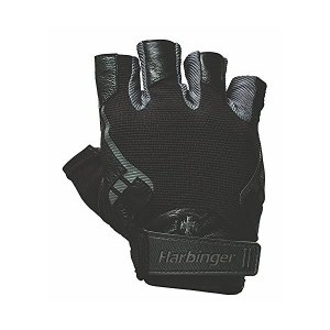 Harbinger Pro トレーニンググローブ Vented Cushioned Leather ...