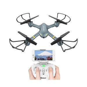 DBPOWER ドローン カメラ付き 生中継可能 国内認証済み Wi-Fiカメラ FPVリアルタイム スピード自由転換 ワンキーリターン 3Dフリッ mekoda-store