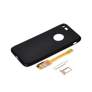 iphone 8 対応 デュアル SIM アダプター キットダブルー SIM カード ケース/カバー...