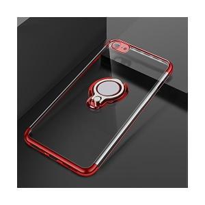 Jisoncase スマホケース iPhone8/iphone7 対応 リング付き 背面 クリア ス...