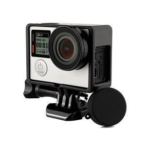 【Taisioner】GoPro HERO4/3+/3専用 保護フレーム+シリコンレンズカバー+UVレンズフィルター スポーツカメラアクセサリー ( mekoda-store
