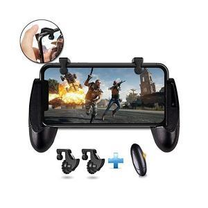 【最新マウス触感】荒野行動コントローラー PUBG Mobileコントローラー ゲームパッド 2点セ...