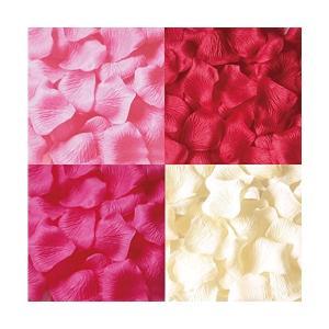 フラワーシャワー 花びら 1200枚セット 結婚式 2次会 パーティー の演出に花びら ローズペダル (4色ミックス) mekoda-store