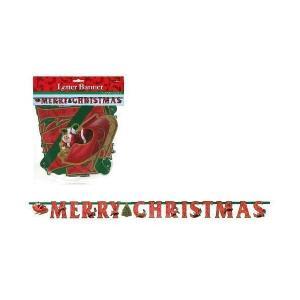 レターバナー メリークリスマス PG120106|mekoda-store