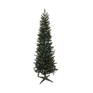 クリスマス屋 クリスマスツリー クラシカルスリムツリー スリムツリー 210cm ヌードツリー ツリー単品|mekoda-store