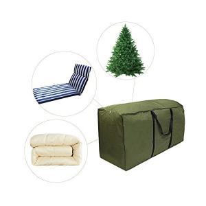 Wholehot クリスマスツリー収納バッグ 大型バッグ 引っ越しバッグ 座布団収納バック 寝具収納袋 大容量 アウトドア収納袋 多機能 撥水 軽量|mekoda-store