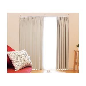 ドレープカーテン*レクサス(アイボリー) 巾150×丈135cm 厚地2枚組の商品画像|ナビ