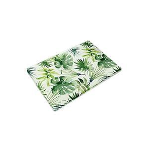 Simple Life 北欧 植物柄 リーフ 葉 天然素材 玄関マット 室内 ドアマット ベッドルーム カーベット おしゃれ 吸水 バスマット 台所 mekoda-store