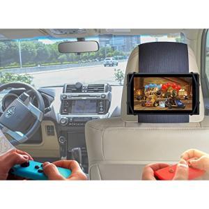 TFY 車用ヘッドレストゲーム機ホルダー シリカゲルホルダー マウント Nintendo Switchゲーム機専用ホルダー mekoda-store