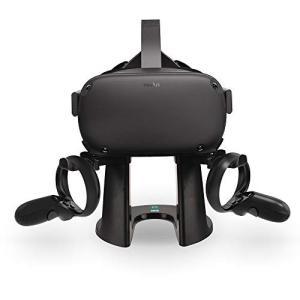 AMVR VRスタンド、ヘッドセットディスプレイホルダー、Oculus Rift S / Oculus Questヘッドセットおよびタッチコントロー mekoda-store