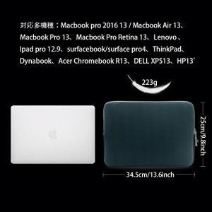 パソコンケース 13-13.3インチ ラップトップスリーブ/MacBook Pro/Air/Surface Pro/HP/ウルトラブック用 PCバッ|mekoda-store