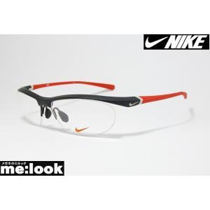NIKE ナイキ 軽量 メガネ フレーム 7070/2-015 度付可  マットブラック|melook