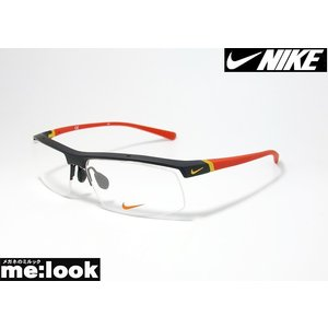 NIKE ナイキ 軽量 スポーツ メガネ フレーム 7071/3-016-59 度付可 マットブラック|melook