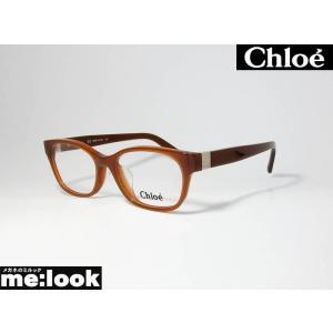 Chloe クロエ メガネ フレーム CE2701A-210-52 度付可 ブラウン|melook