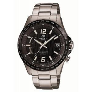[カシオ]CASIO 腕時計 EDIFICE  世界6局電波対応ソーラーウォッチ スマートアクセス タフムーブメント採用 EQW-A100DB-1A2JF メンズ melook