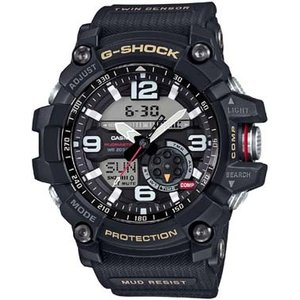 CASIO カシオ 腕時計 G-SHOCK ジーショック  MASTER OF G MUDMASTER マッドマスター GG-1000-1AJF メンズ ブラック/ブラック|melook
