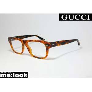 GUCCI グッチ メガネ フレーム GG1080-WR9-53 度付可 ブラウンデミ melook