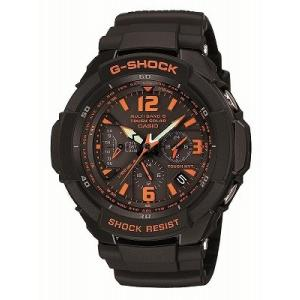 CASIO カシオ 腕時計 G-SHOCK ジーショック  SKY COCKPITシリーズ  タフソーラー 電波時計 MULTIBAND 6 GW-3000B-1AJF メンズ|melook