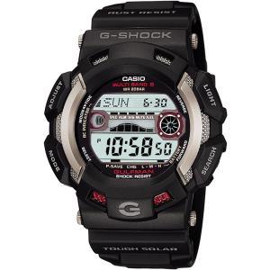 CASIO カシオ 腕時計 G-SHOCK ジーショック  GULFMAN ガルフマン タフソーラー 電波時計 MULTIBAND6 GW-9110-1JF メンズ|melook