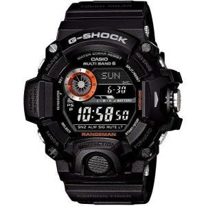 CASIO カシオ 腕時計 G-SHOCK ジーショック  MASTER OF G RANGEMAN  レンジマン トリプルセンサーVer.3搭載  世界6局電波対応ソーラーウォッチ  GW-9400BJ-1JF|melook