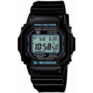 CASIO カシオ 腕時計 G-SHOCK ジーショック  BLACK×BLUE Series  世界6局電波対応ソーラーウォッチ GW-M5610BA-1JF メンズ|melook