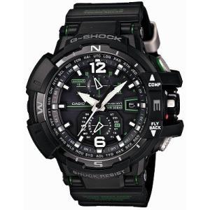 CASIO カシオ 腕時計 G-SHOCK ジーショック  SKY COCKPITシリーズ  タフ・ムーブメント スマート・アクセス搭載 世界6局対応 電波ソーラーウォッチ GWA11001A3JF|melook