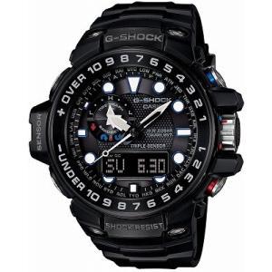 CASIO  腕時計 G-SHOCK   GULFMASTER  トリプルセンサーVer.3+スマートアクセス+タフムーブメント搭載  世界6局電波対応ソーラーウオッチ GWN-1000B-1AJF メンズ