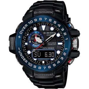 CASIO 腕時計 G-SHOCK  GULFMASTER トリプルセンサーVer.3+ スマートアクセス+タフムーブメント搭載  世界6局電波対応ソーラーウオッチ GWN-1000B-1BJF メンズ|melook