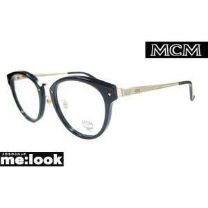 MCM エムシーエム クラッシック ラウンド 丸メガネ フレーム MCM2632A-001-50 度付可 ブラック/ゴールド|melook