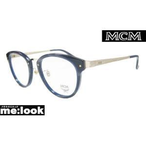 MCM エムシーエム クラッシック ラウンド 丸メガネ フレーム MCM2632A-083-50 度付可 ブルーデミ/ゴールド|melook
