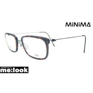 AMIPARIS アミパリ 軽量 ハイブリット メガネ フレーム MINIMA-C12-1632 度付可 マットブラウンデミ melook