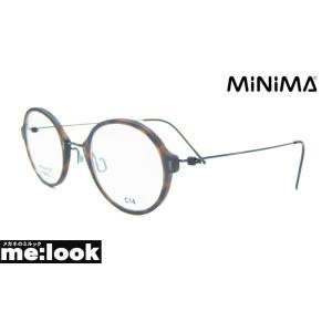 AMIPARIS アミパリ 軽量 ハイブリット メガネ フレーム MINIMA-C14-1632 度付可 マットブラウンデミ melook
