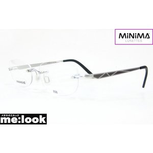 MINIMA ミニマ メガネ フレーム 最高のかけ心地 超軽量 MINIMA62-GR-BEIG-898 度付可 縁なし サテングレイ melook