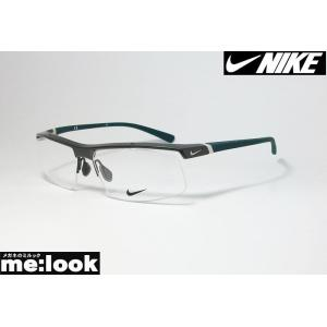 NIKE ナイキ 軽量 メガネ フレーム 7071/3-069 サイズ59 度付可  ガンメタ|melook