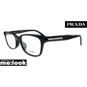 PRADA プラダ 国内正規品 本州送料無料 メガネ フレーム VPR26R-1AB-53 度付可  ブラック|melook