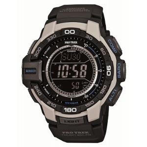 CASIO カシオ 腕時計 PROTREK プロトレック トリプルセンサーVer.3搭載  ソーラーウォッチ PRG-270-7JF メンズ