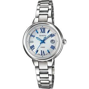 カシオ CASIO 腕時計 SHEEN シーン ソーラータイプ SHE-4516SBY-7AJF レディース|melook