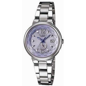 カシオ CASIO 腕時計 SHEEN シーン 世界6局電波ソーラーウォッチ SHW-1507D-6AJF レディース|melook