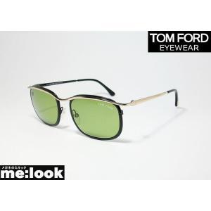TOM FORD トムフォード サングラス TF419-05N FT419-05N ゴールド・ブラック/グリーン|melook