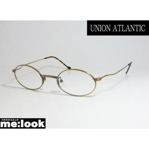 UNION ATLANTIC ユニオンアトランティック クラシック メガネ フレーム UA3600-11-46 度付可 丸メガネ AMIPARIS アミパリ アンテークゴールド melook