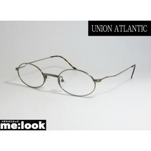 UNION ATLANTIC ユニオンアトランティック クラシック メガネ フレーム UA3600-12-46 度付可 丸メガネ AMIPARIS アミパリ アンティークグレイ|melook